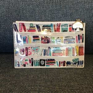 Kate Spade Library Pencil Pouch